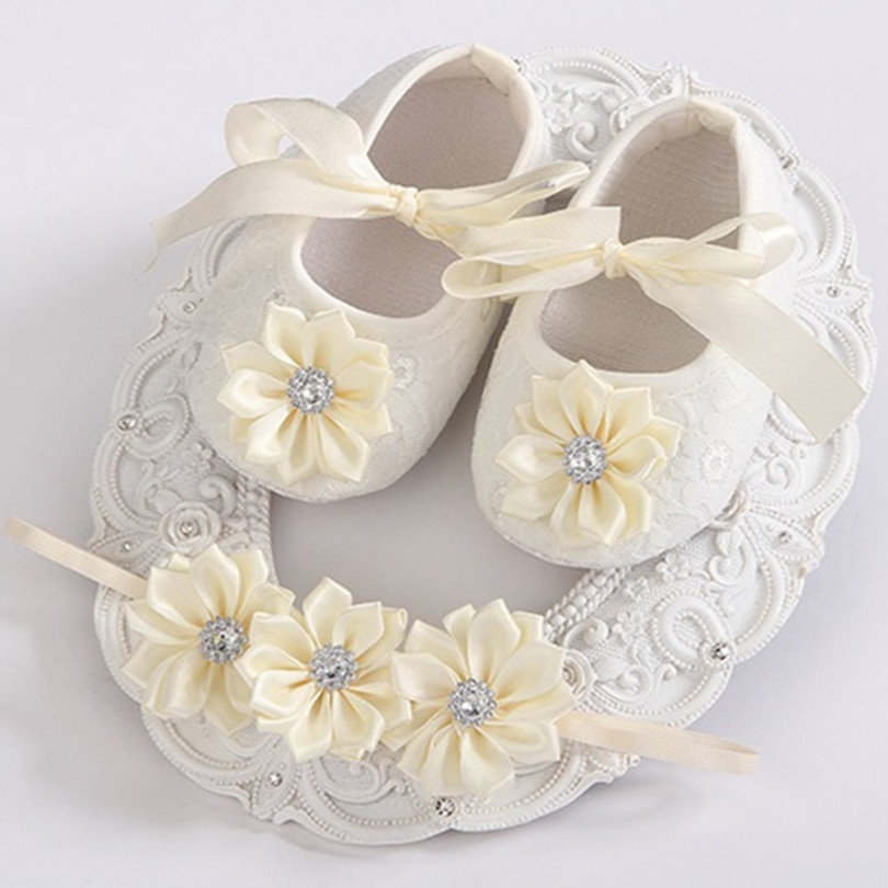 Rhinestone Baby Shoes Girls Headbands Sets ,Ballerina Booties,Sapatos Baby,Fashion Newborn Shoes,Vintage Accessories,#2T0059(China (Mainland))