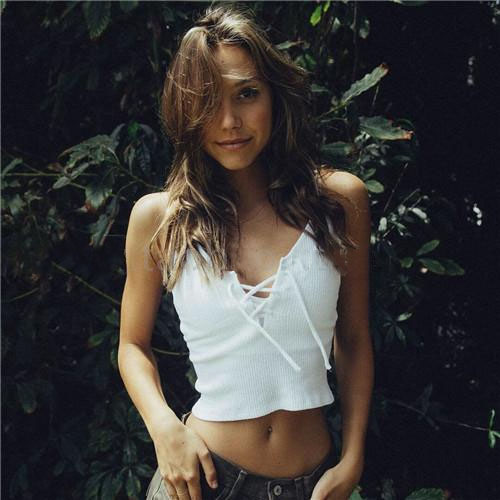 Elina's shop New 2016 women Harajuku front cross brandage strappy bustier crop top tank bralette brandy melville Camis s m(China (Mainland))