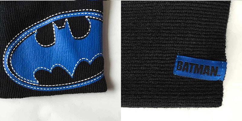 New Christmas Winter Boys Set Hat Cartoon Cap Batman tricot knitted hat Children Beanies Warm hat Games Hat 11