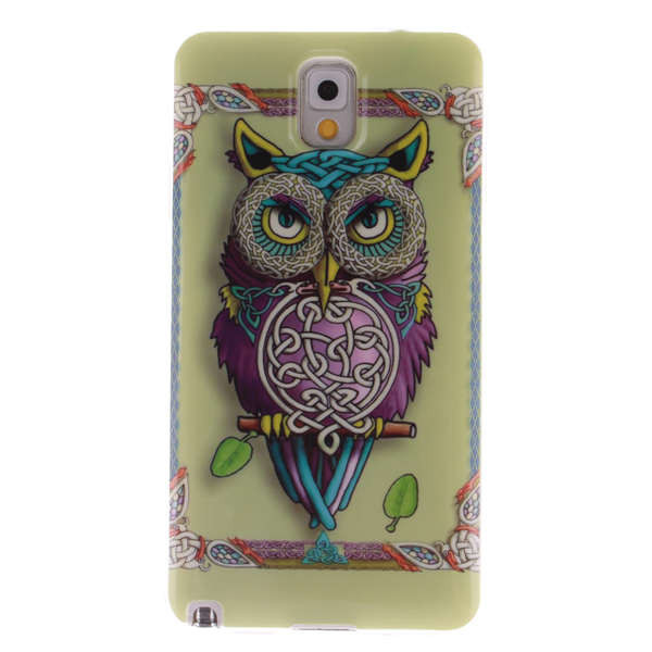 For Samsung Galaxy Note 3 Case N9000 IMD Silicone Back Cover Dream Catcher Feather Style Smartphone Accessories Note 3 Capa Para