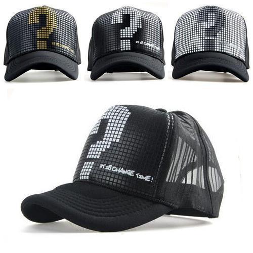 Snapback mesh baseball outdoor summer sports hat trucker cap men net cap hiphop Visor Sunbonnet hat for women truck unisex B221(China (Mainland))