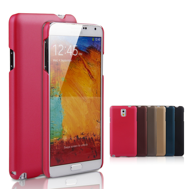 New Arrival Fashion Ultrathin Phone Case For Sumsung Note3 Frosted Mobile Phone Case Import PU Material Cover Case For Sumsung(China (Mainland))