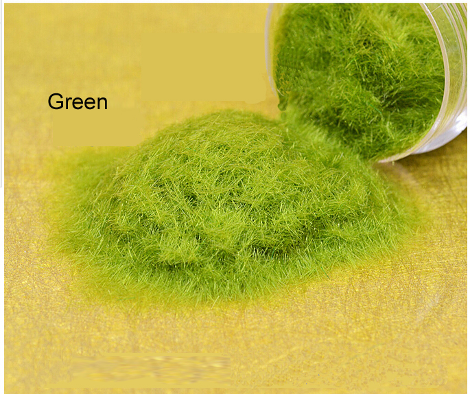 Scene construction sand table model material model simulation of lawn grass powder FLOCK NYLON(China (Mainland))