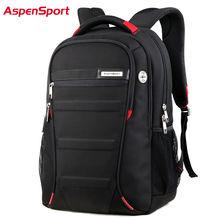Men and Women Laptop Backpack 15.6 17 Inch Rucksack SchooL Bag Travel waterproof Backpack Male Notebook Computer Bag black(China (Mainland))