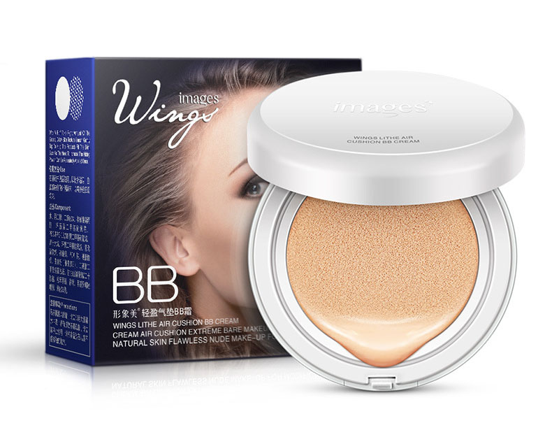 BB Cream Sunscreen Concealer Moisturizing Foundation Makeup Natural Bare Air Cushion CC Cream(China (Mainland))
