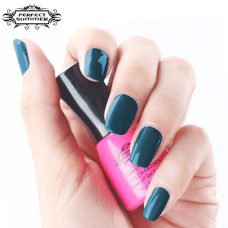 Perfect Summer Gel Polish Newest Classic Grey Series Colors Lacquer 8ml LED UV Long Lasting Nail - Store store