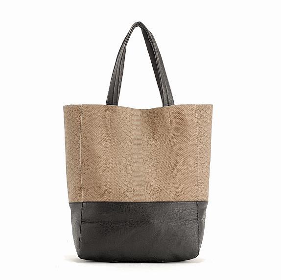 2016 New Causal Stitching Snake Pattern Bucket Women Big Bag, Women Retro Fahion Handbag High Quality Shoulder Bolsas HSP1188(China (Mainland))