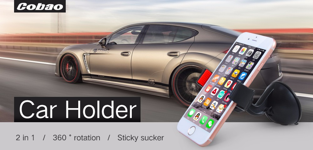 Universal Sucker Adjustable Car Phone Gps Camera Mount Holder Stand Adsorbed On Glass Window Mobile Phone Accessories and Parts