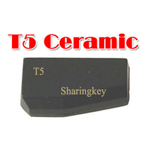 Free Shipping ID T5-20 Ceramic Transponder Chip T5 Chip 5pcs/lot(China (Mainland))