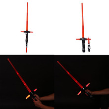 Star Wars The Force Awakens Kylo Ren Lightsaber w/ LED Light&Sound Sword Toy(China (Mainland))