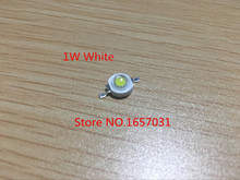 10pcs CREE Real enough 1W white High Power LED lamp Beads LEDs Diodes Bulb 110-120LM Chip SMD for Spot light Downlight Bulb(China (Mainland))