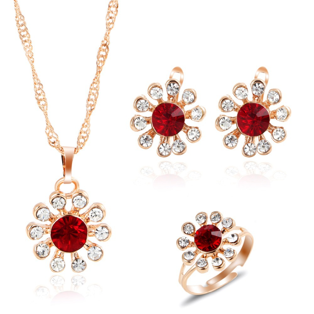 Buy romantic charming crystal flower for Buying jewelry on aliexpress