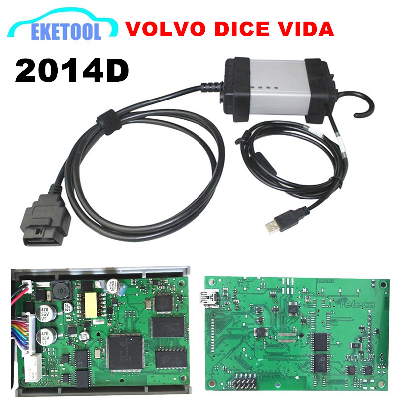 Express Fast For Volvo Vida Dice Diagnostic Tool Newest 2014 Multi-Language Excellent PCB Update by CD Supports J2534 Protocol(China (Mainland))