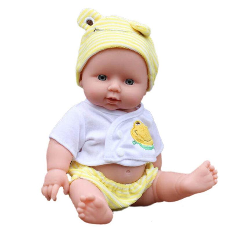 Гаджет  Reborn Baby Doll Soft Vinyl Silicone Lifelike Newborn Baby for Girl Gift FCI# None Игрушки и Хобби