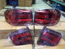 4PCS/SETS  Rear Lights FIT For VW Tiguan 2012-2014  LED Tail Light(China (Mainland))