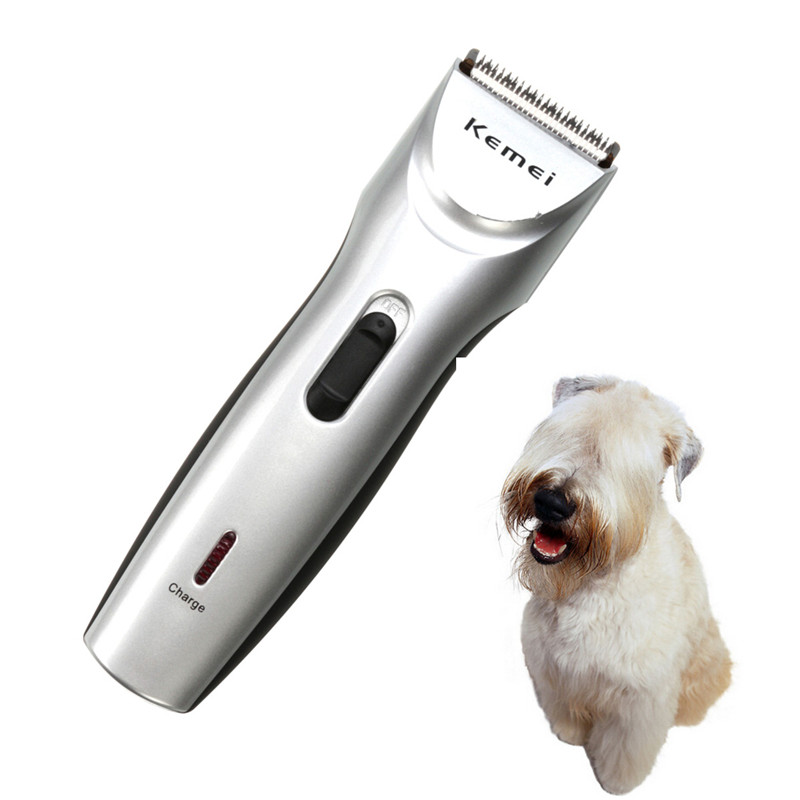 Hot Selling KM-8201 Professional Electric Low noise Pets Dog Cat Animal Hair Trimmer Grooming Clipper Comb Kit Haircut Machine(China (Mainland))