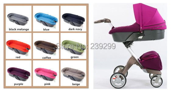 DSLAND Accessory Carrycot Stroller Carry Cot Compelete Carriage Baby basket Infant Bassinet Free Shipping(China (Mainland))
