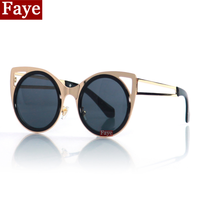 Glasses Top Frame Only : Top selling Hollow out metal frame sunglasses Retro cat ...