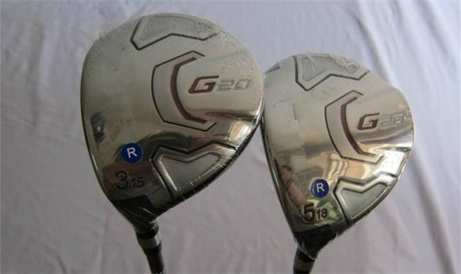 G20 Fairway Woods G20 Golf Woods Left Hand Golf Clubs #3/#5 Regular/Stiff Graphite Shaft With Head Cover EMS Shipping(China (Mainland))
