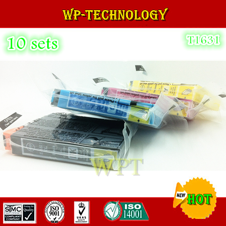 [ 10 sets ] compatible ink cartridge suit for T1621 T1631 series ,suit for Epson WF2010W 2510WF 2520NF 2530WF 2540WF etc
