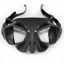 Professional spearfishing diving mask tempered lens scuba mask low profile adult freediving and spearfishing mask snorkel gears(China (Mainland))