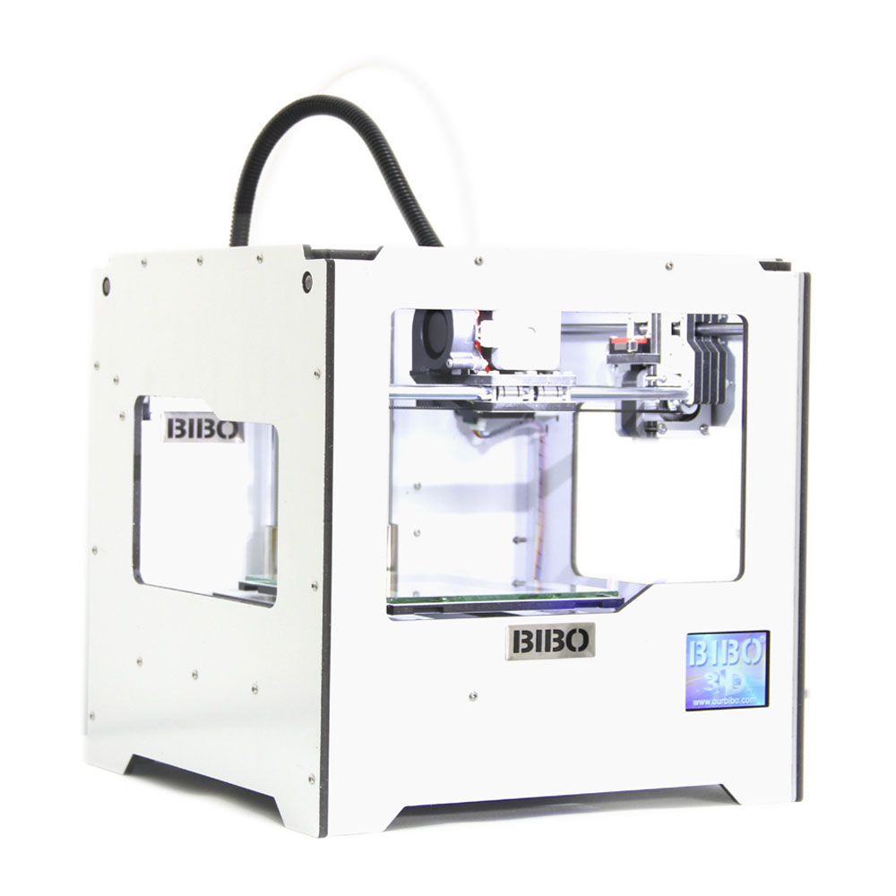 BIBO 3D Printer Laser Engraver Metal Frame Touch Screen Wifi Not DIY Kit Filament Detection Removable Glass Bed Industrial Grade(China (Mainland))