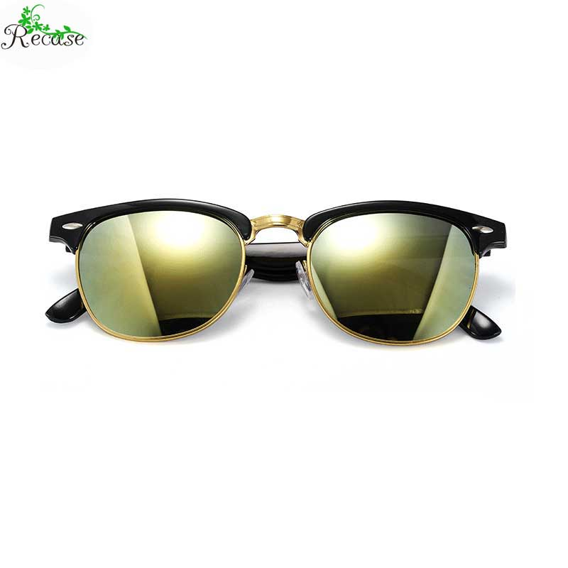 2016 Hot Sale Vintage Semi-rimless Unisex Sunglasses Plastic & Alloy Frame UV400 Outdoor Travelling Sun Glasses SG-16(China (Mainland))