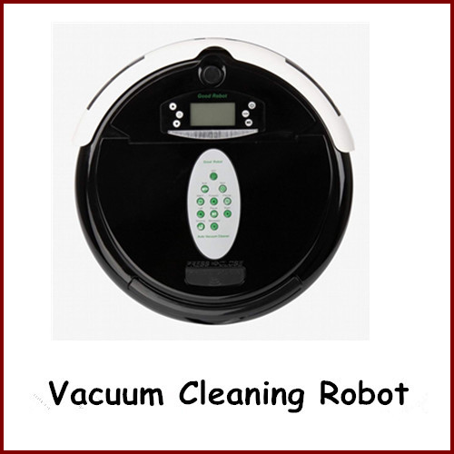Mopping Sweeping Suction 3 IN 1 LCD Vacuum Cleaner Vacuum Cleaning Robot+Virtual Wall Automatic Charging Remote Control By DHL(China (Mainland))