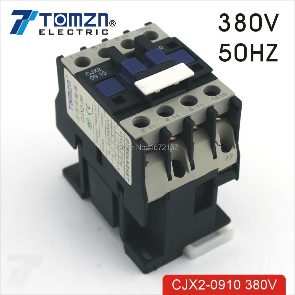 CJX2 0910 AC contactor LC1 9A 380V 50HZ<br><br>Aliexpress