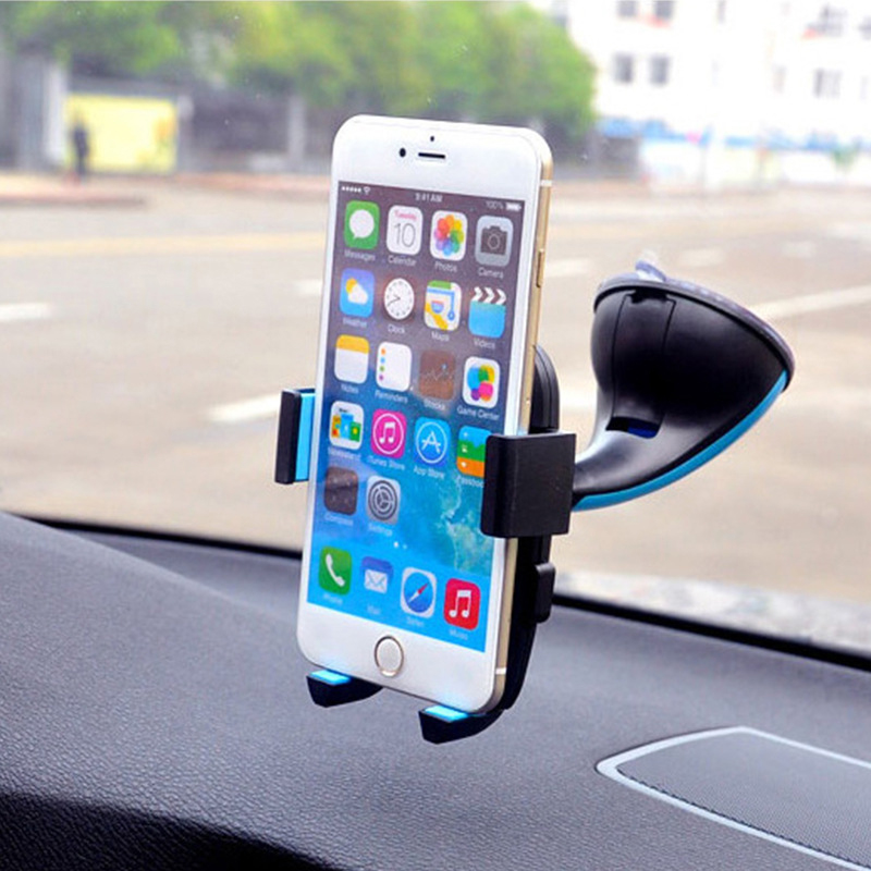 SC30 Universal Car Phone Holder Mount Windshield Sucker For iPhone 5 5s 6 6s Plus Samsung HTC Smartphones GPS Plastic Stand Dock(China (Mainland))