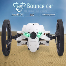 Strong Jumping Sumo Connected Toy Mini RC Car 2.4GHz Bounce Car With Flexible Wheels Remote Control Car(China (Mainland))