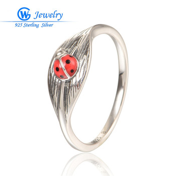 New Bijoux Femme Ancient Style Animal Ring Solid Silver Rings For Women Party Ring Gw Fine Jewelry RIPY086