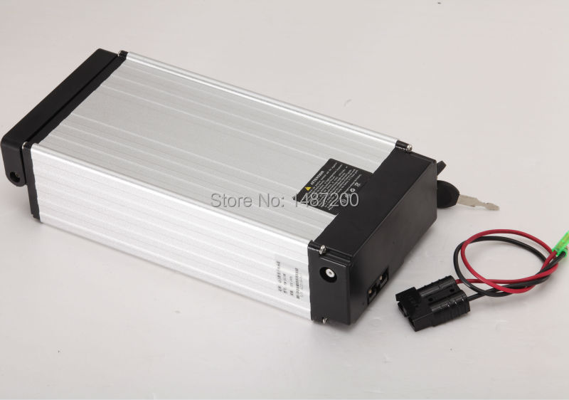 Rear rack style lithium battery 48V 20ah for transferint normal bicyce to electric bicycle(China (Mainland))