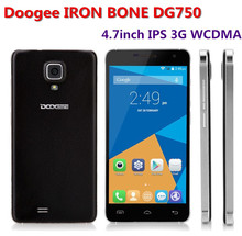 Original Doogee IRON BONE DG750 MTK6592 Octa Core Cellphone 4.7inch IPS Dual SIM 3G WCDMA 1GB+8GB 8MP Android 4.4 OS Smartphone