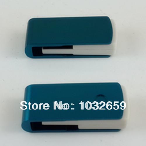 Hot Sale! Mini Swivel / Twist / Rotate Metal Usb Flash Disk/ Drive/ Memory Stick / Custom Logo 1GB 2GB 4GB 8GB 16GB(China (Mainland))