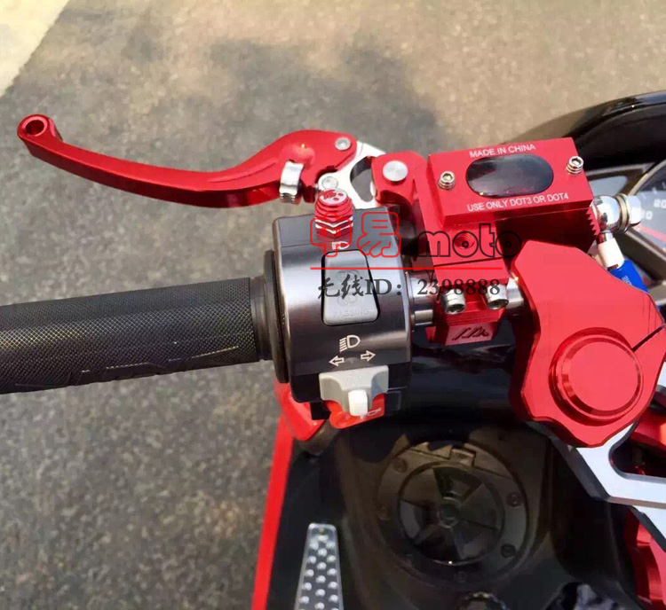 CNC lever Handlebar Hydraulic clutch Brake Pump Master Cylinder Motorcycle Racing motobike Universal For Yamaha Kawasaki Suzuki