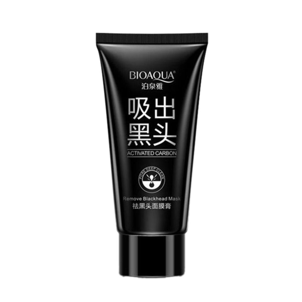 Nose Blackhead Removal Mask Peel Mineral Black Mud Deep Clean Nose Face Mask