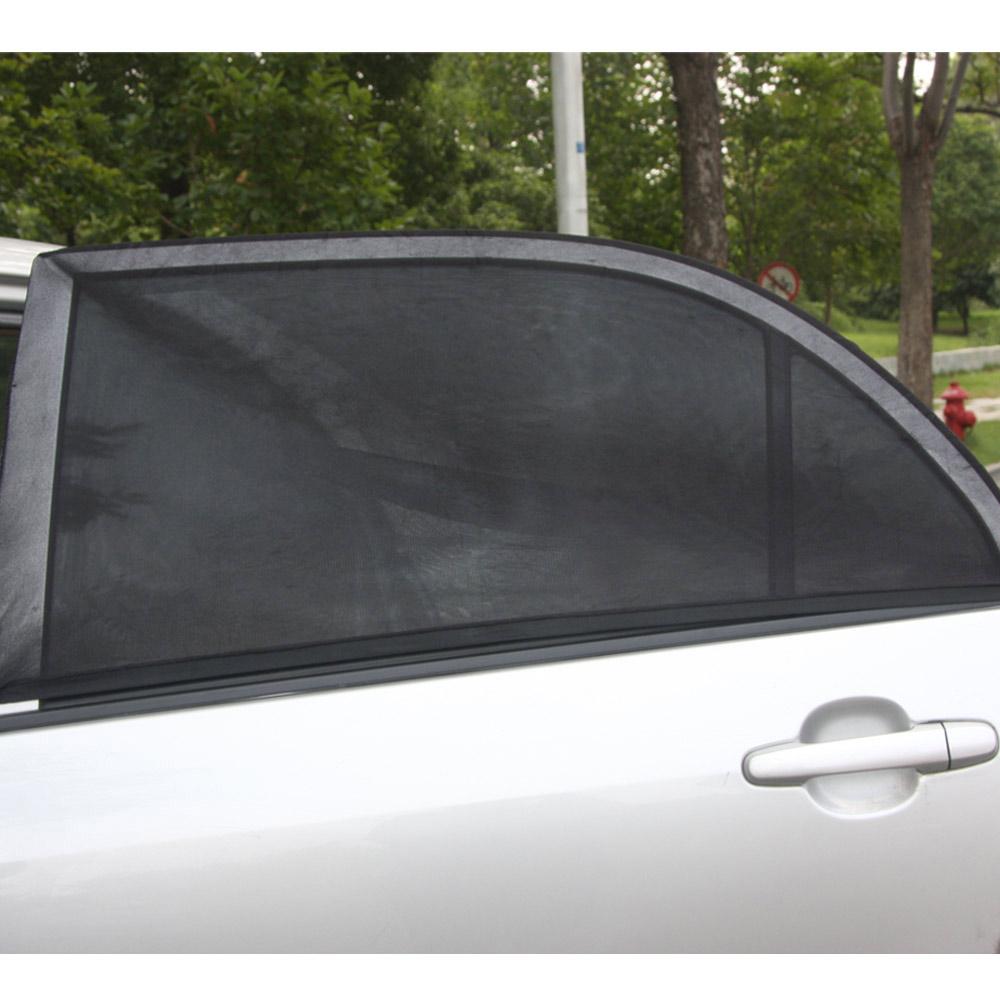 Universal 2PCS Adjustable Car Window Sun Shades UV Protection Shield Mesh Cover Visor Sunshades Cover Window Foil(China (Mainland))