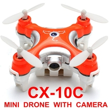 2.4G 4CH Cheerson CX-10C 6 Axis Remote Control RC Helicopter With Camera Quadcopter Drone Ar.drone VS mjx x101 x600 x800 x400(China (Mainland))