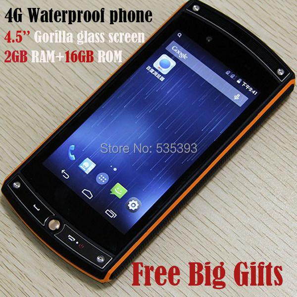 Мобильный телефон Oinom LMV10 IP68 4G FDD LTE GSM Quad 4.4.2 /2g 16G 13.0mp сотовый телефон digma linx a177 2g