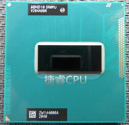 Free shipping new central processor SR0MJ i7-3820QM Intel Core i7 Mobile CPU i7 3820QM Laptop CPU 8MB PGA 2.7GHz to 3.7GHz SROMJ(China (Mainland))