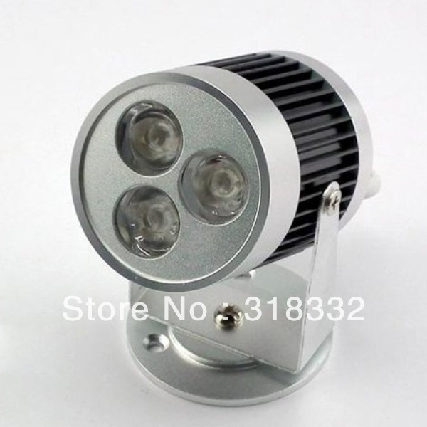 3W led track light / spotlight / stand lamp / commercial lighting / 3*1w black&silver color,2yrs warranty+freeshipping