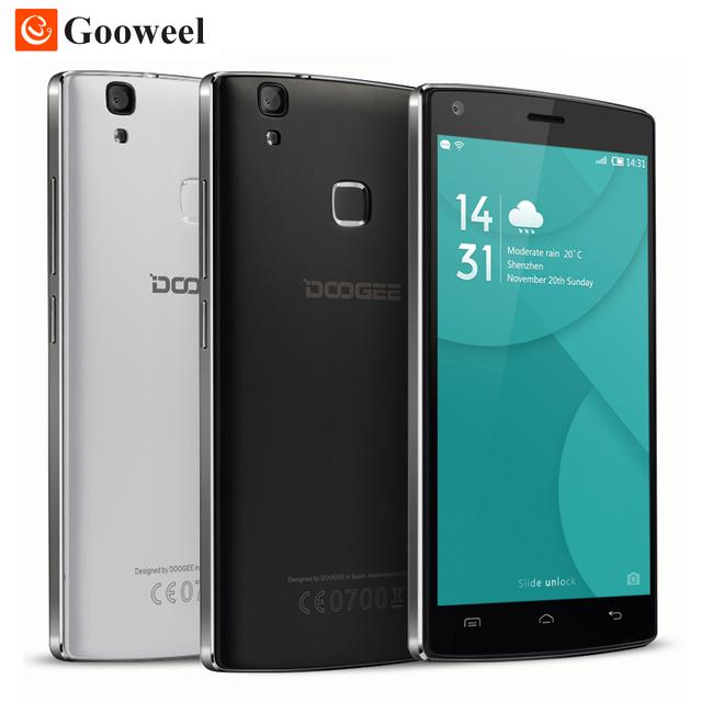 Original Doogee X5 МАКС 3 Г/X5 MAX PRO 4 Г 5.0 дюймов HD Смартфон Quad Core Сотовый Телефон 4000 мАч Мобильного Телефона Отпечатков Пальцев ID 8MP + 8MP