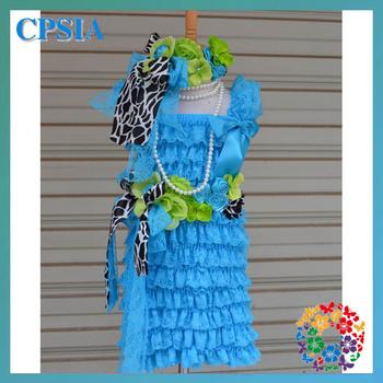 24sets/lot Turquoise baptism dresses for infant girls dress baby girls set baby girl polo dress-