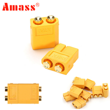 Buy 5pair/lot Amass XT60-P Plug Connector Male & Female PCB Dedicated PCB Board RC Models for $3.93 in AliExpress store