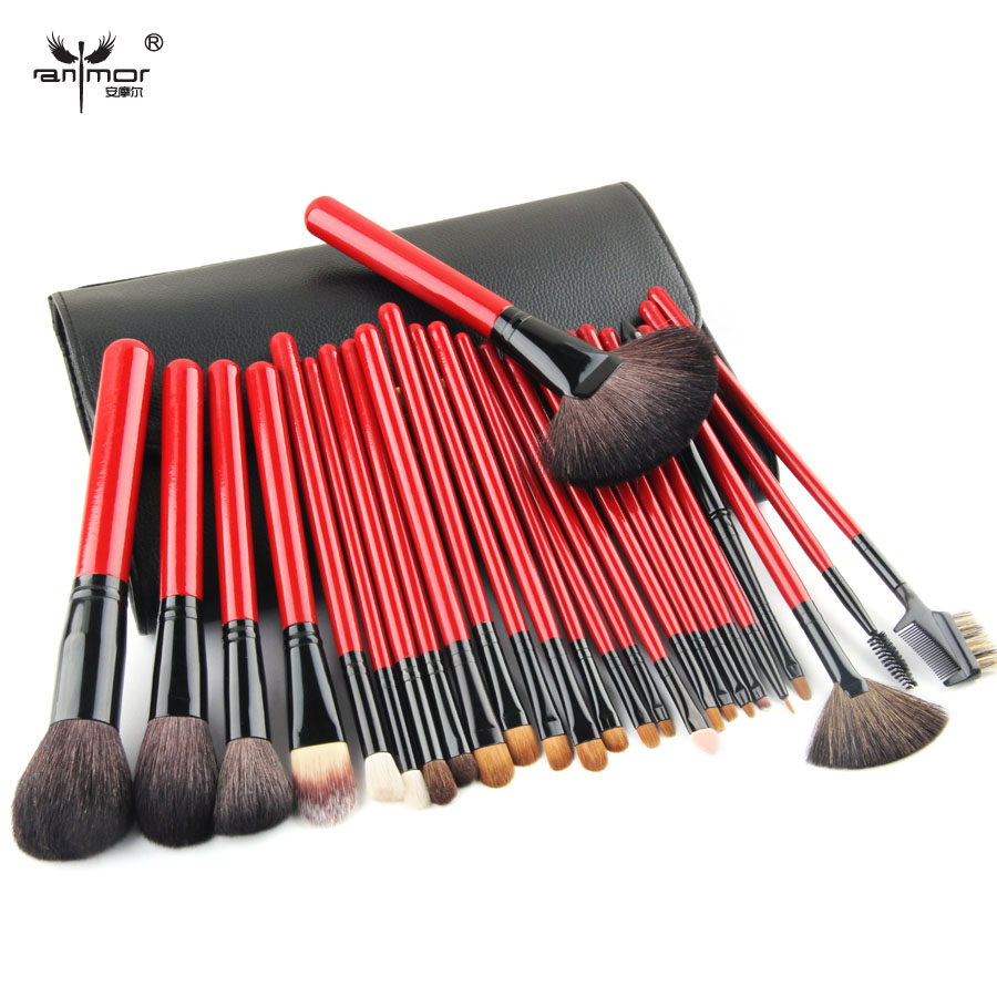 High Quality 26 pcs Makeup Brushes Professional Makeup Brush Set Goat Hair Brushes For Make Up Beauty Makeup Tools(China (Mainland))