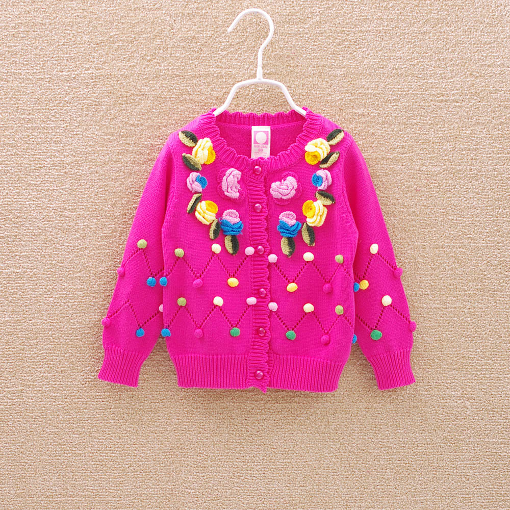 New Arrival High Quality 2016 Fashion Children Sweater Child Cardigan  Sweater Girls Sweaters Autumn Children Kids