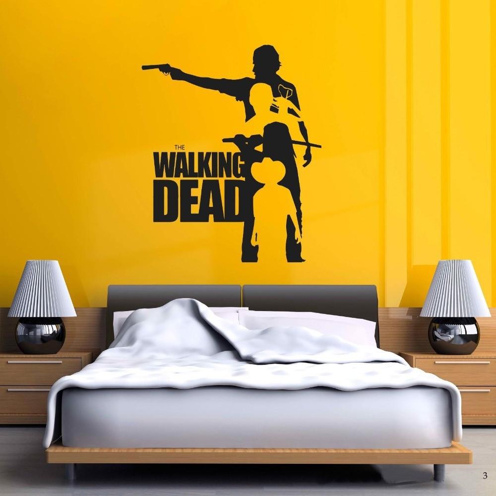 Walking Dead Wall Decal Sticker Sticker Vinyl The Walking Dead ...