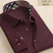 2015 New Spring  Oxford men casual shirts plaid long sleeve mens shirt Fashion formal male shirts 4xl Highquality free shipping(China (Mainland))