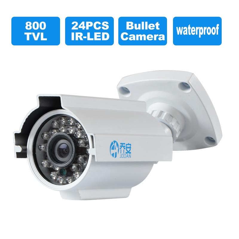 JOOAN 504YRC-T CMOS 800TVL Waterproof Bullet camera /24 IR-Leds  Surveillance CCTV Camera White<br><br>Aliexpress